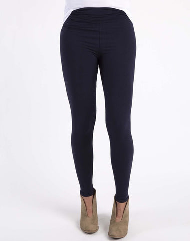 buttery soft leggings- NAVY