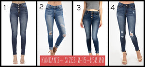 FALL KANCANS- 4 styles