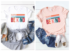 Be Kind Tee- 2 colors