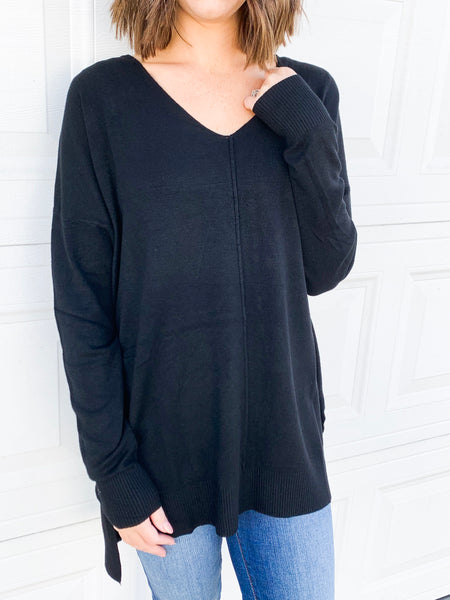 Sienna Sweater in Black