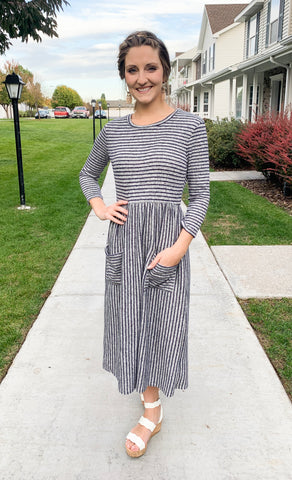 Sweater Midi Dress 2 colors