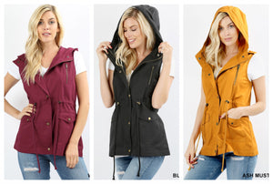 Military Vests- 3 colors