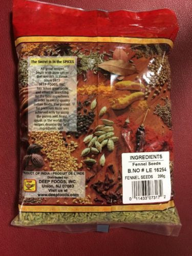 Fennel Seeds 7 Oz Free USA Shipping!