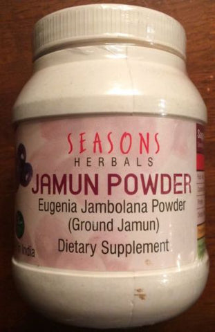 Jamun Seed/Eugenia Jambolana Supports Healthy Glucose Levels, Free USA Shipping