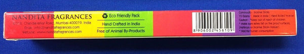 Nandita Bulk Incense Sticks Box - Choose Your Scent Free Shipping