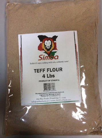 Teff Flour - 4 lbs - Free and Fast Shipping!