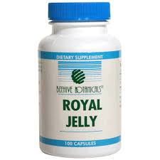Beehive Botanicals Royal Jelly 1000 mg - 100 cap-Free US shipping