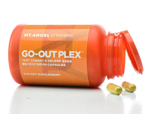 new Mt Angel Vitamins Go-out Plex Gout relief 90 ct.