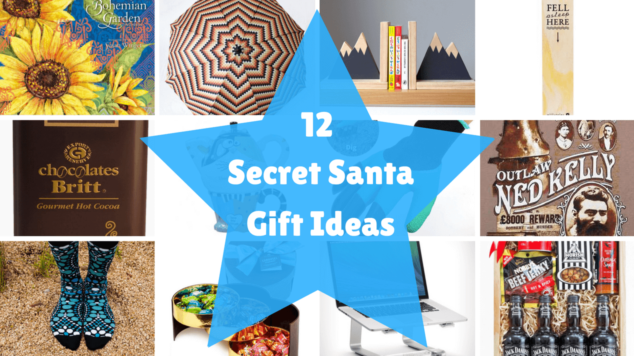 12 Secret Santa Gift Ideas
