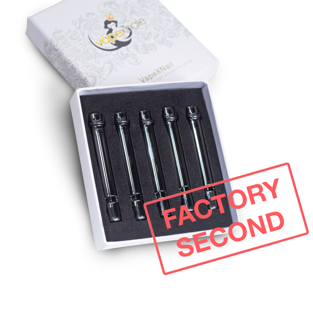 Factory Second: Graphite Boro Tubes - 5 Pack