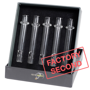 Factory Second: QUARTZ Tubes - 5 Pack