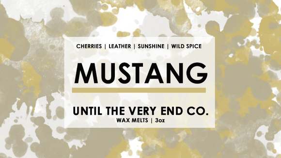 Mustang Wax Melts