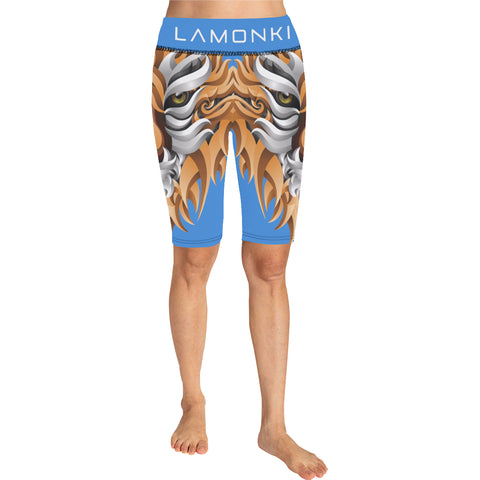 LaMonki Lion Knee Length Leggings