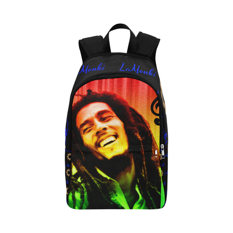 Bob Marley Fabric Backpack for Adult (Model 1659)