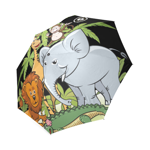 Animal  Kingdom Umbrella Foldable Umbrella (Model U01)