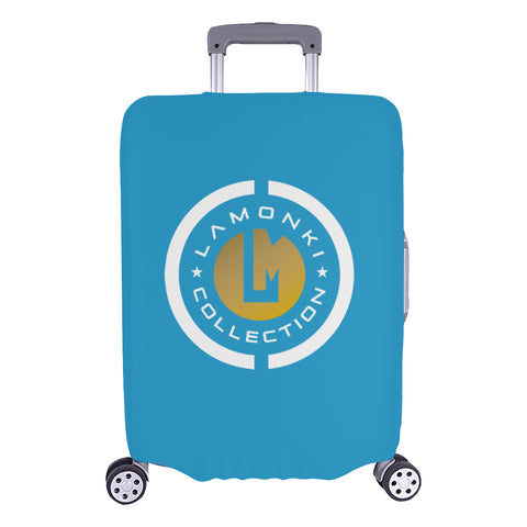 White Emblem G Luggage Cover/ large 2