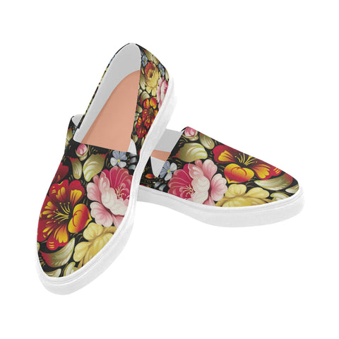 Flowers Naiad Canvas shoes (model 1809)