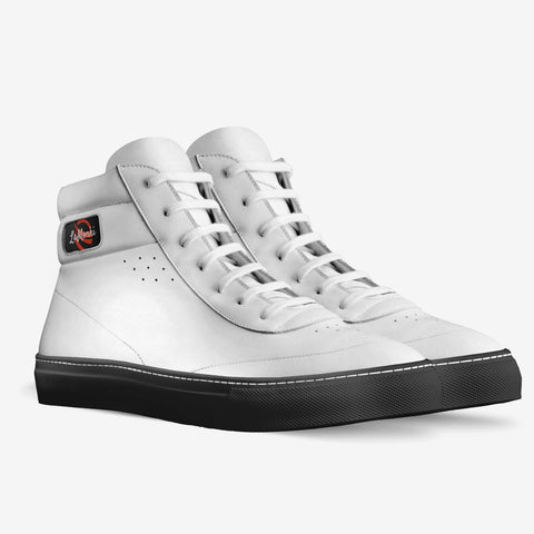 The Vivo unisex vintage high tops (white)