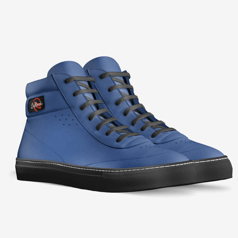 The Vivo unisex vintage high tops (blue)