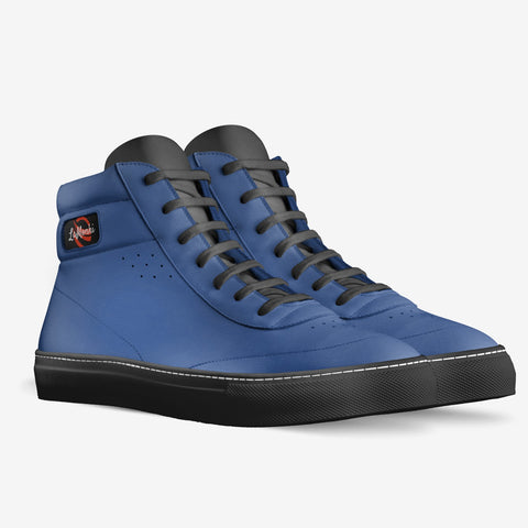 The Vivo unisex high tops (blue/ black)