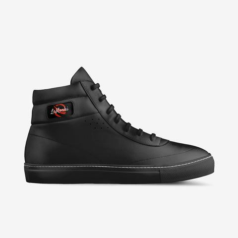 The Vivo unisex vintage high tops (black)