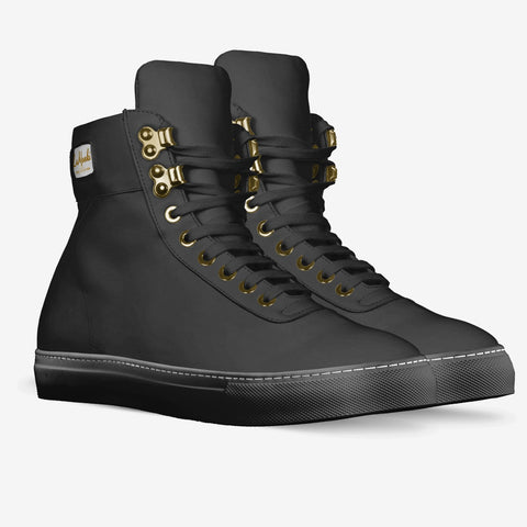 The Alta vintage high tops (black)