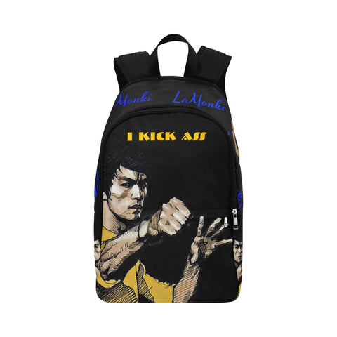 Kick Ass Fabric Backpack for Adult (Model 1659)
