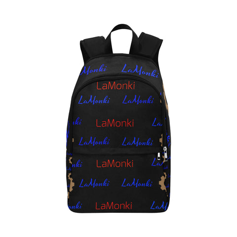 LaMonki His Fabric Backpack for Adult (Model 1659)