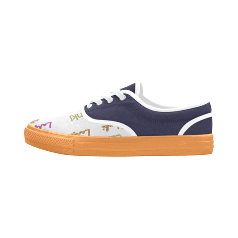 "Signature ""Orange"" Aries Women's Canvas Shoes (Model 029)"