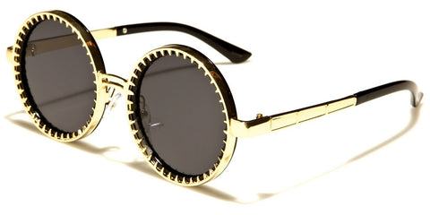 Round Steam Punk Unisex Sunglasses