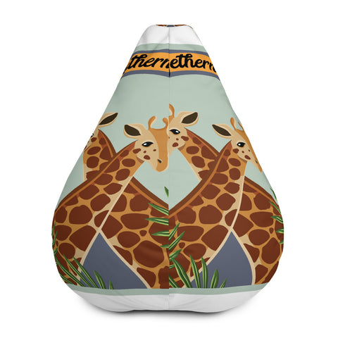 Giraffes Bean Bag Chair w/ filling
