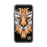 Lion Black iPhone Case