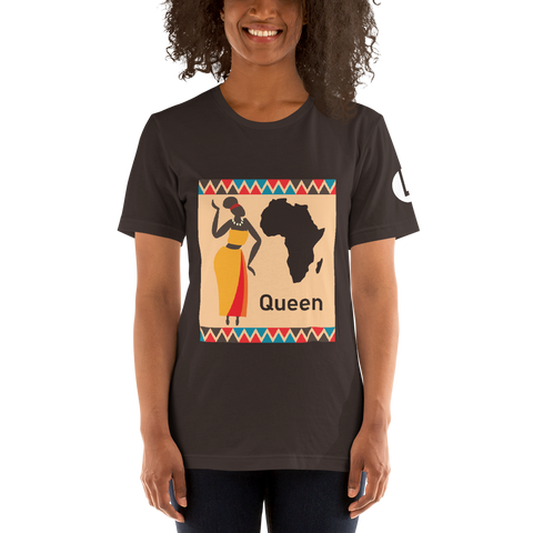 African Queen Short-Sleeve Unisex T-Shirt