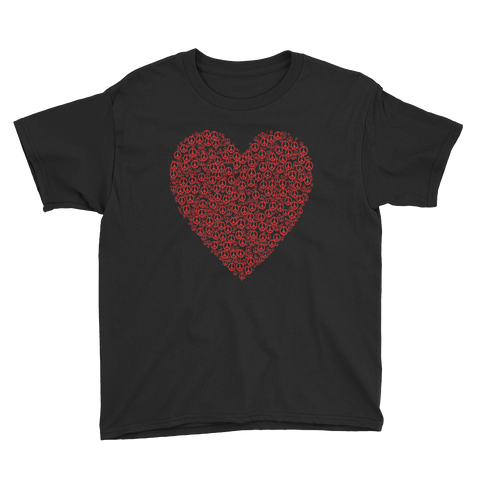 Heart Youth Short Sleeve T-Shirt