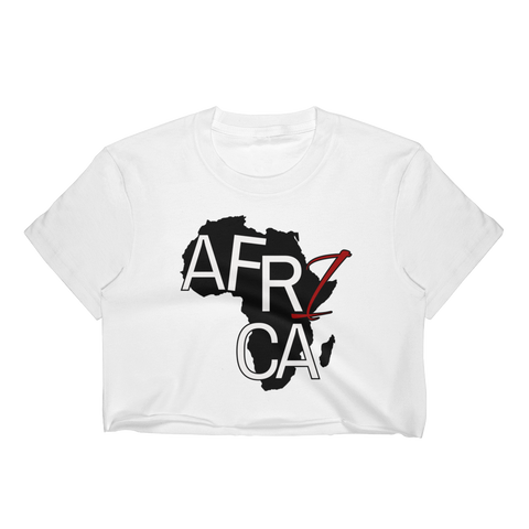 Africa Women's Crop Top