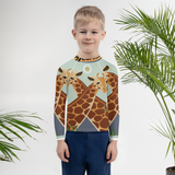 Giraffes Kids Rash Guard