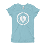 White Emblem Girl's T-Shirt