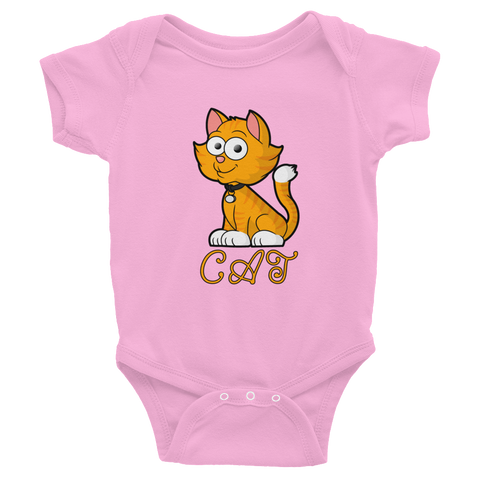 Cat Infant Bodysuit