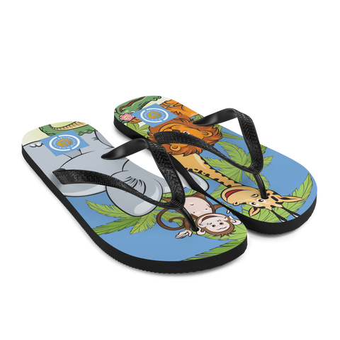 Animal Kingdom Flip-Flops