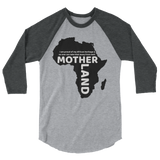 Mother land Unisex 3/4 sleeve raglan shirt