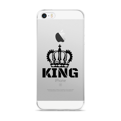 King iPhone 5/5s/Se, 6/6s, 6/6s Plus Case