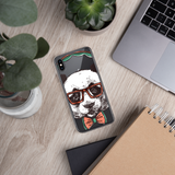 Dj Bear iPhone Case