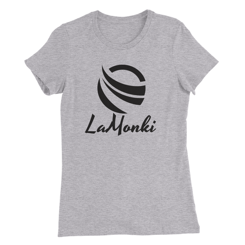 LaMonki black Women's Slim Fit T-Shirt
