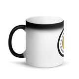 Black Emblem G Matte Black Magic Mug