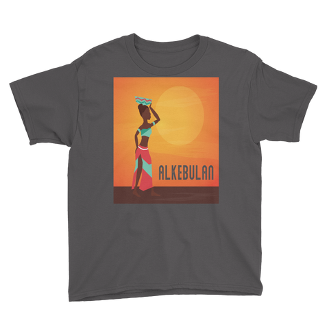 Alkebulan Youth Short Sleeve T-Shirt