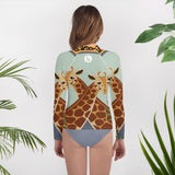 Giraffes Youth Rash Guard