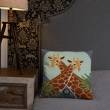 Giraffes Basic Pillow