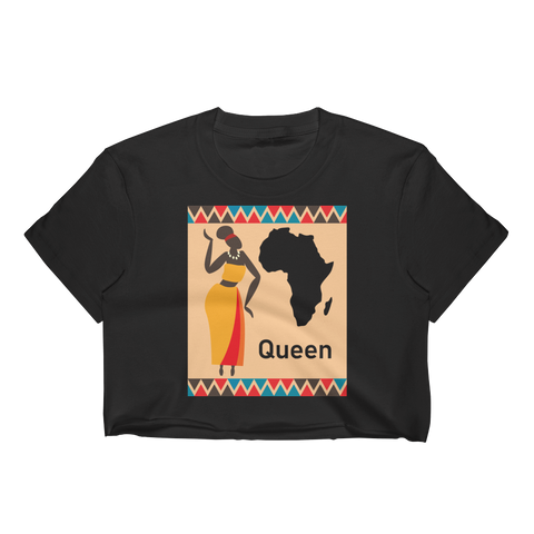 African Queen Women's Crop Top