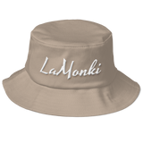 LaMonki classic Old School Bucket Hat