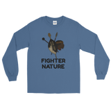 Fighter by Nature Long Sleeve T-Shirt